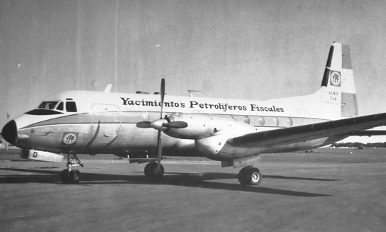 TAPSA-AVIACION-Avro-748-YPF